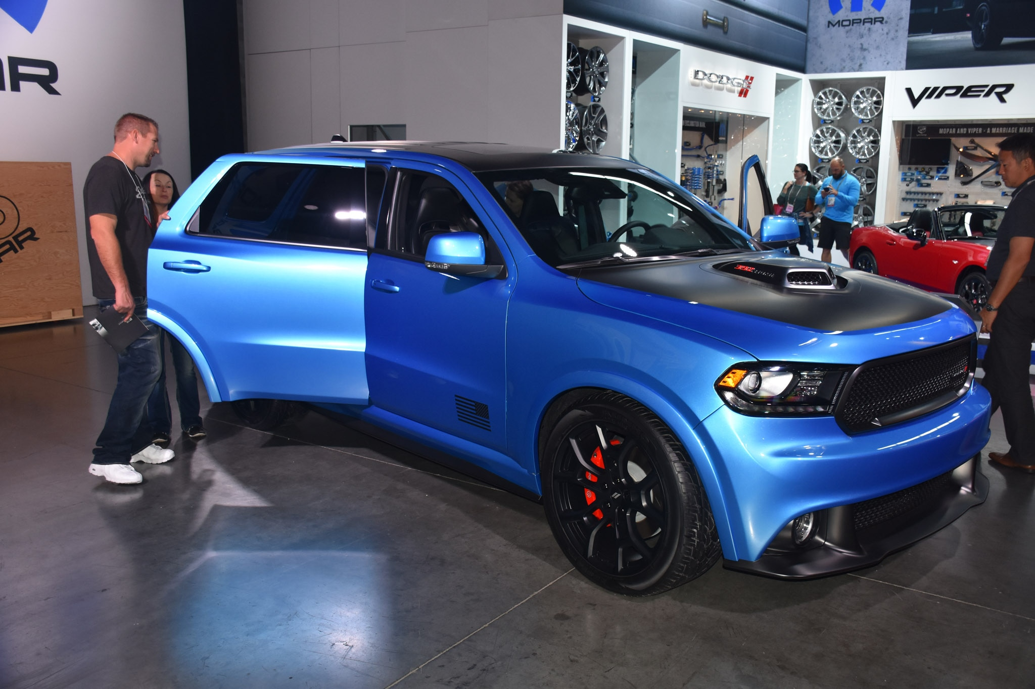 Sema 2016 Bigger And Badder Suvs Invade Vegas