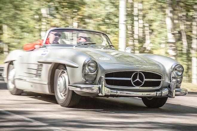 1957 Mercedes-Benz 300SL Roadster Classic Drive   Automobile Magazine