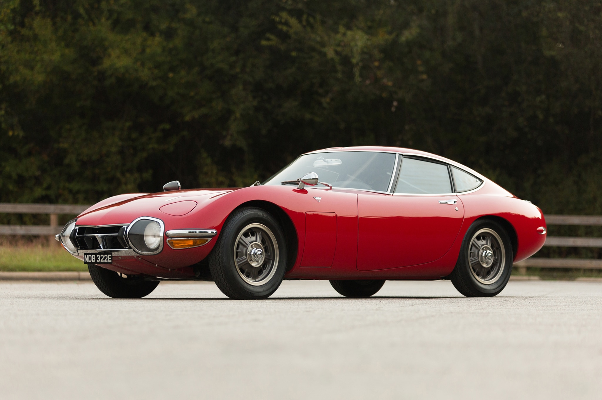 1967 Toyota 2000GT Bring A Trailer Front Three Quarters