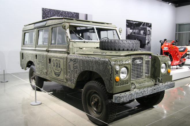 1971 Land Rover Series III 109 Station Wagon front three quarter