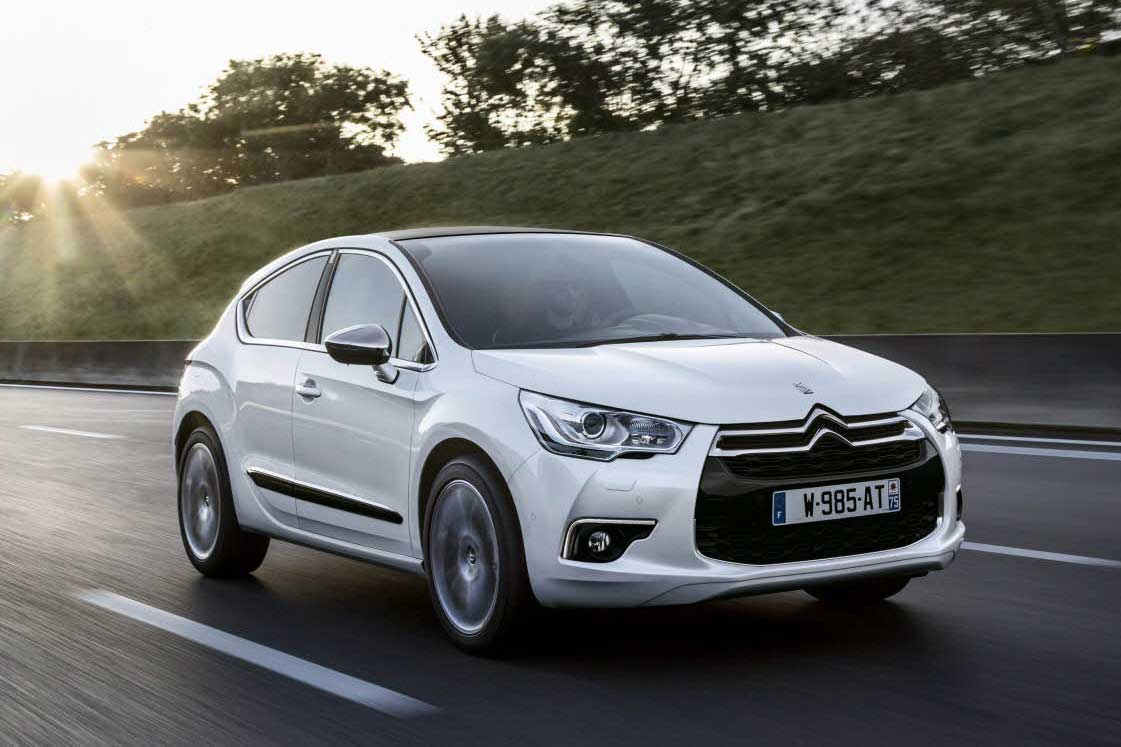 2014 Citroen DS4 Front Three Quarter In Motion 02
