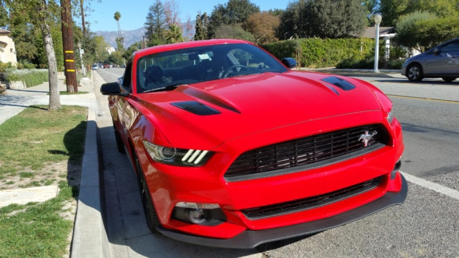 2016 Ford Mustang GT California front light