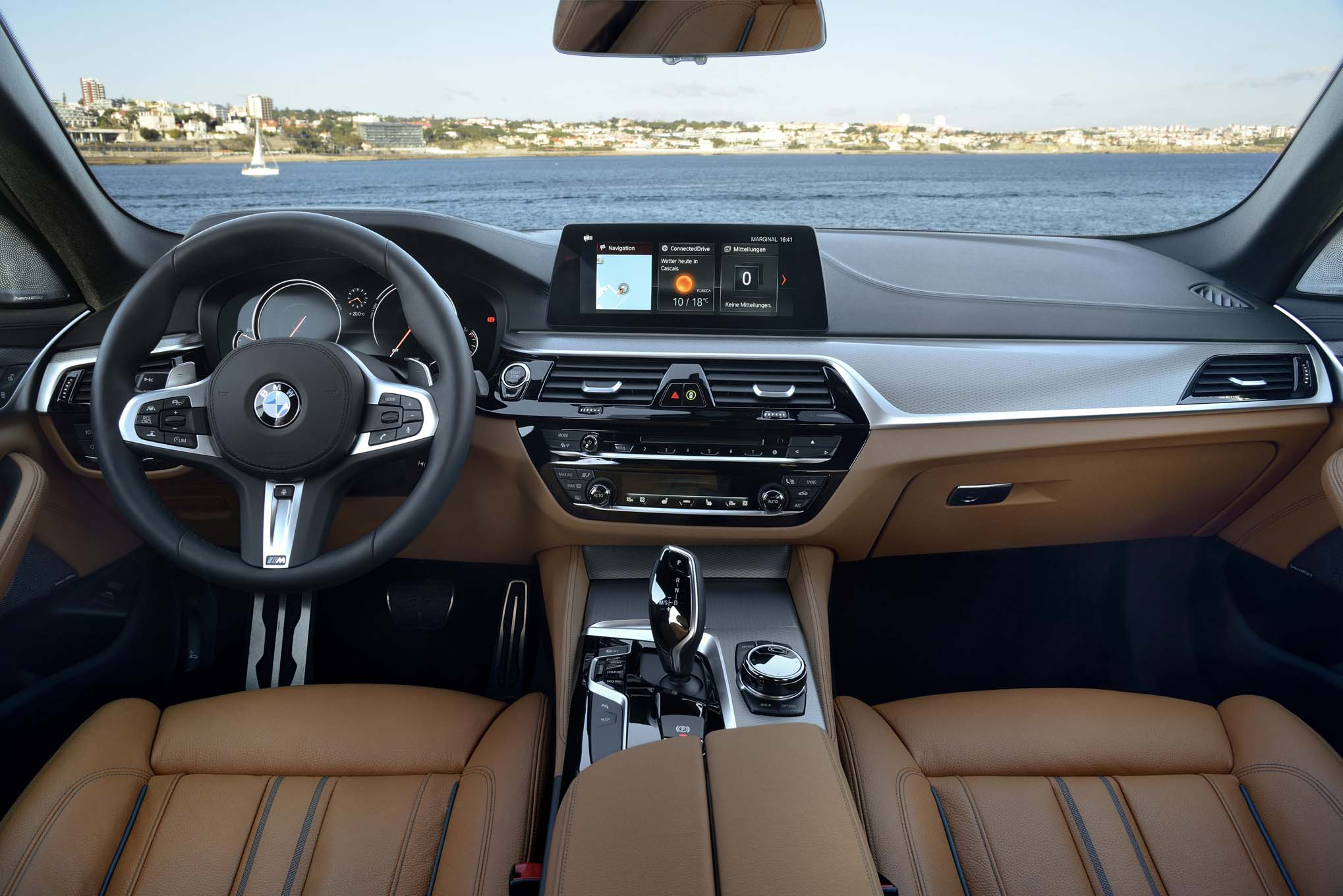 2017 bmw 540i m sport first drive review automobile magazine. Black Bedroom Furniture Sets. Home Design Ideas