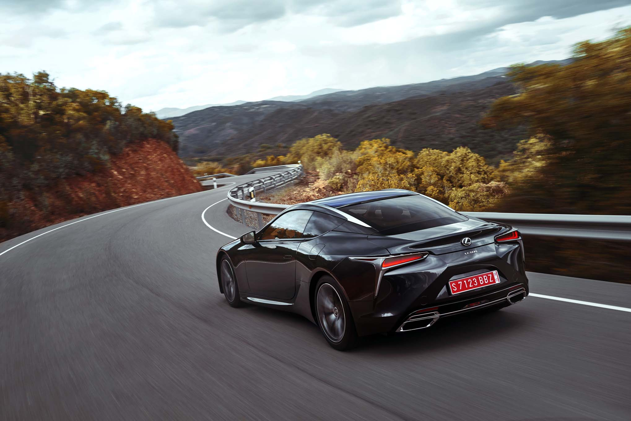 First Drive 2018 Lexus Lc 500 And 500h Automobile Magazine