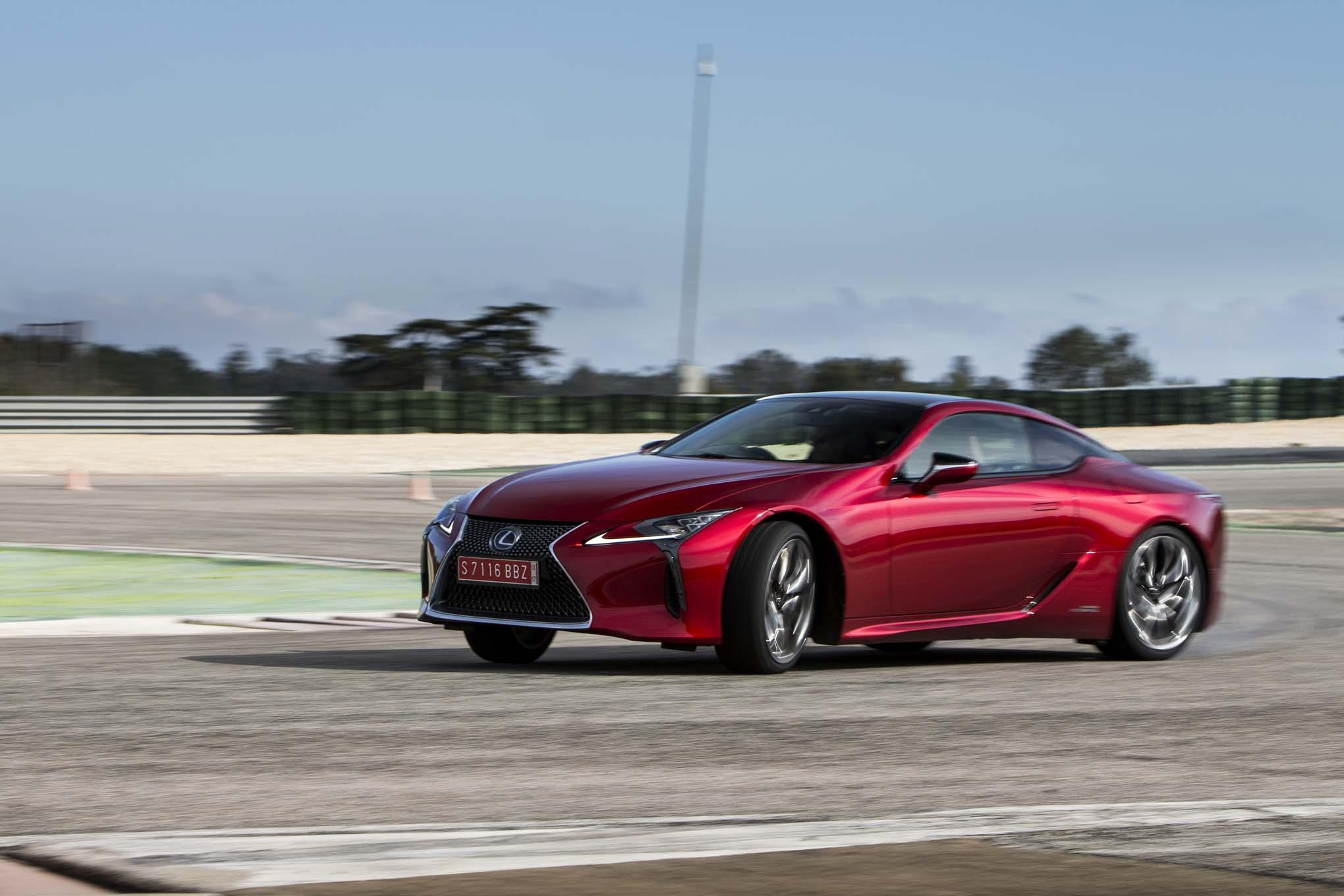 2018 Lexus Lc 500h Quick Take Review Automobile Magazine