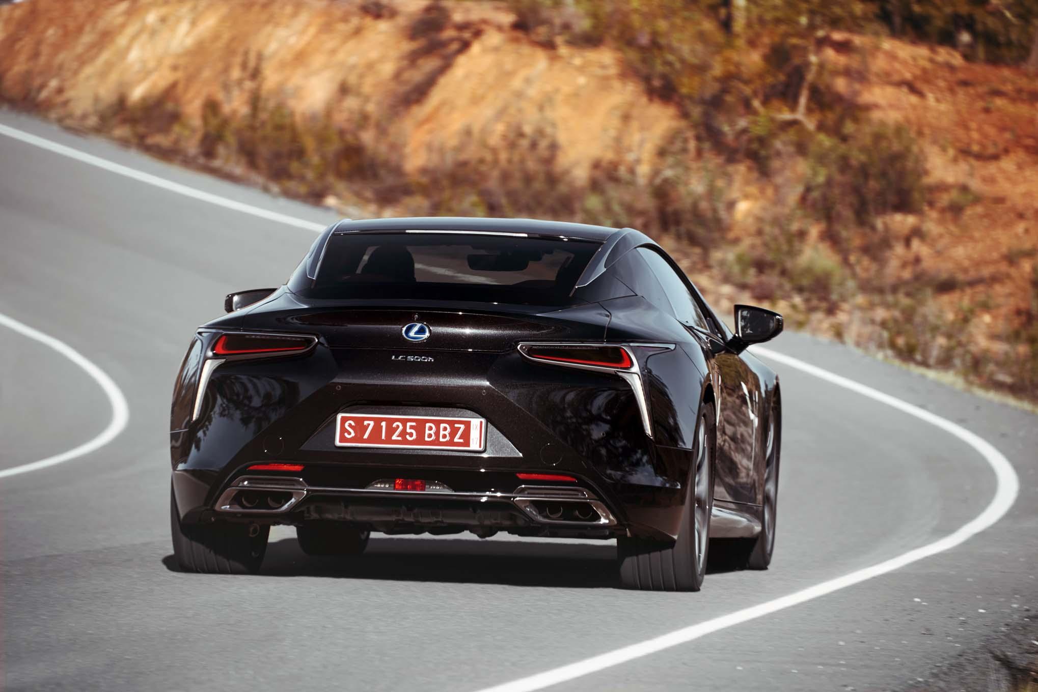 lexus announces pricing for 2018 lc coupe | automobile magazine