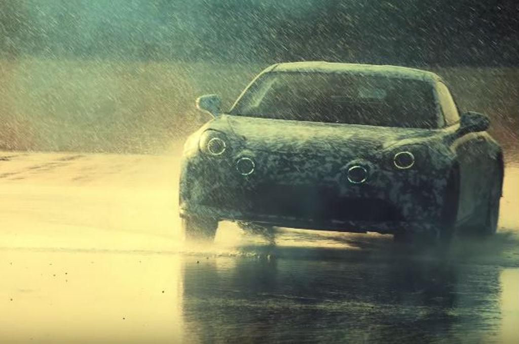 Alpine Sports Car Video