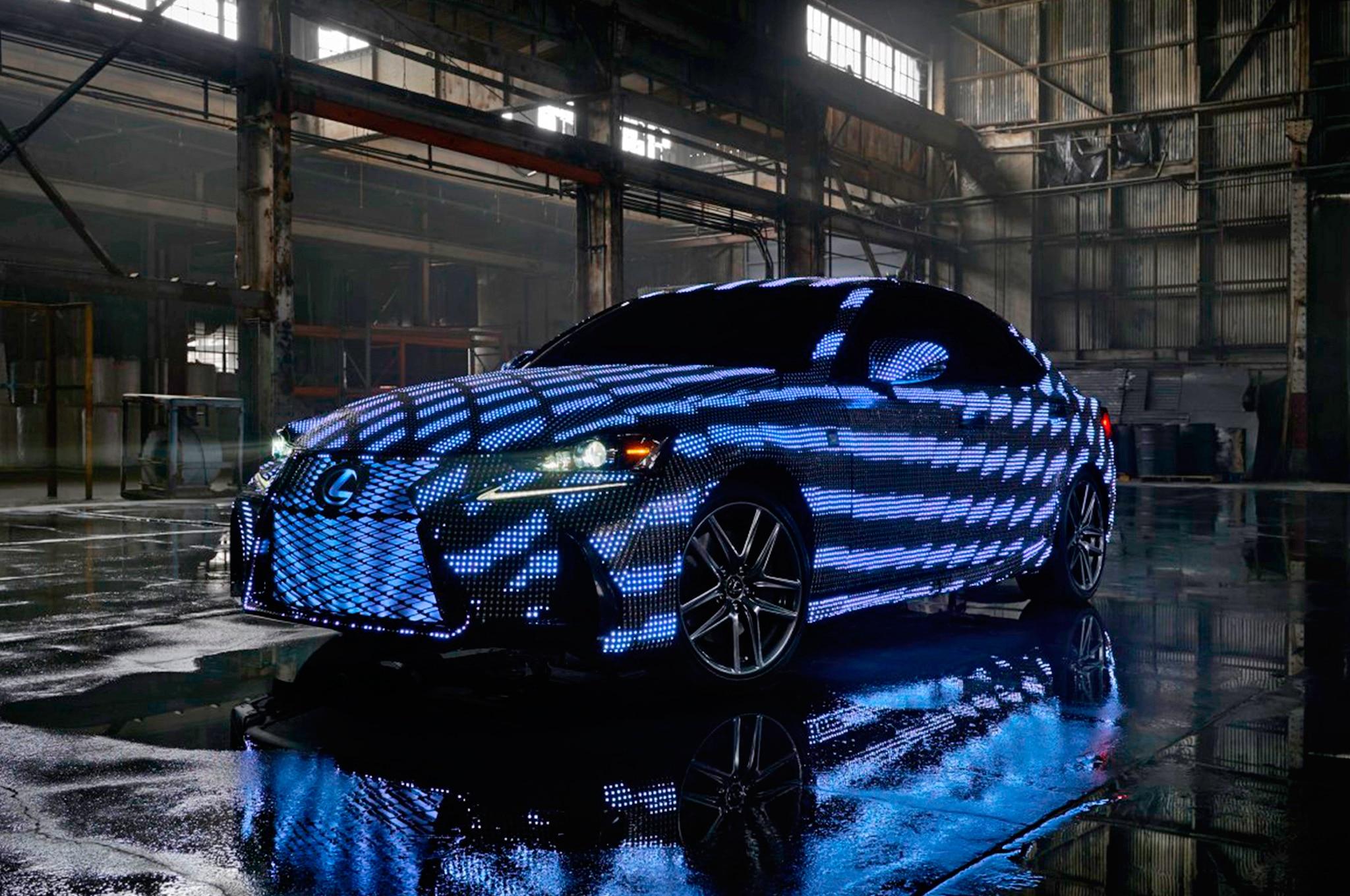 Lexus LIT IS Front Three Quarter 02