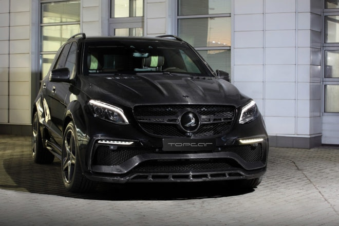 TOPCAR Mercedes Benz GLE Guard Inferno front