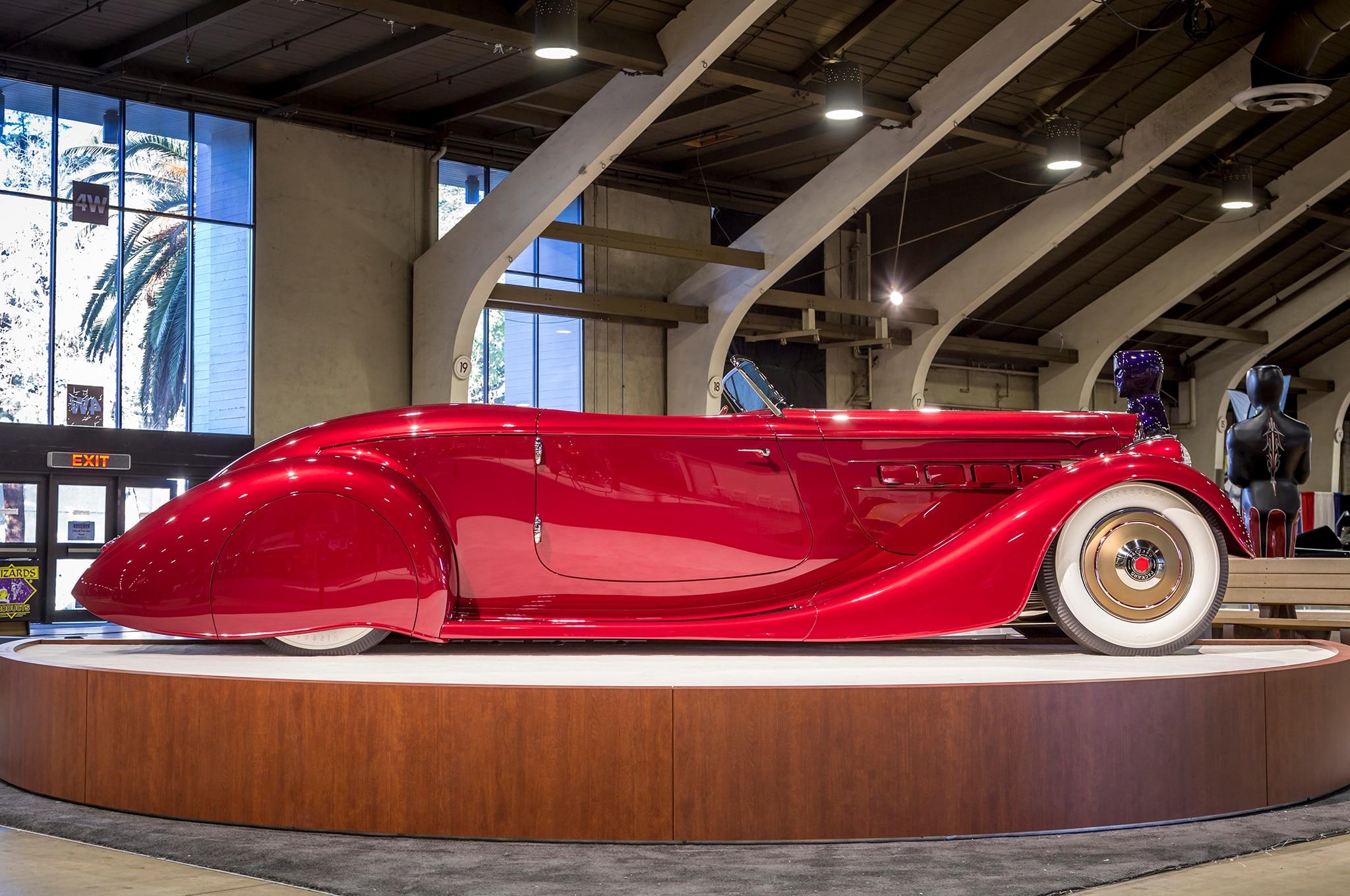 1936 Mulholland Speedster Americas Most Beautiful Roadster Side