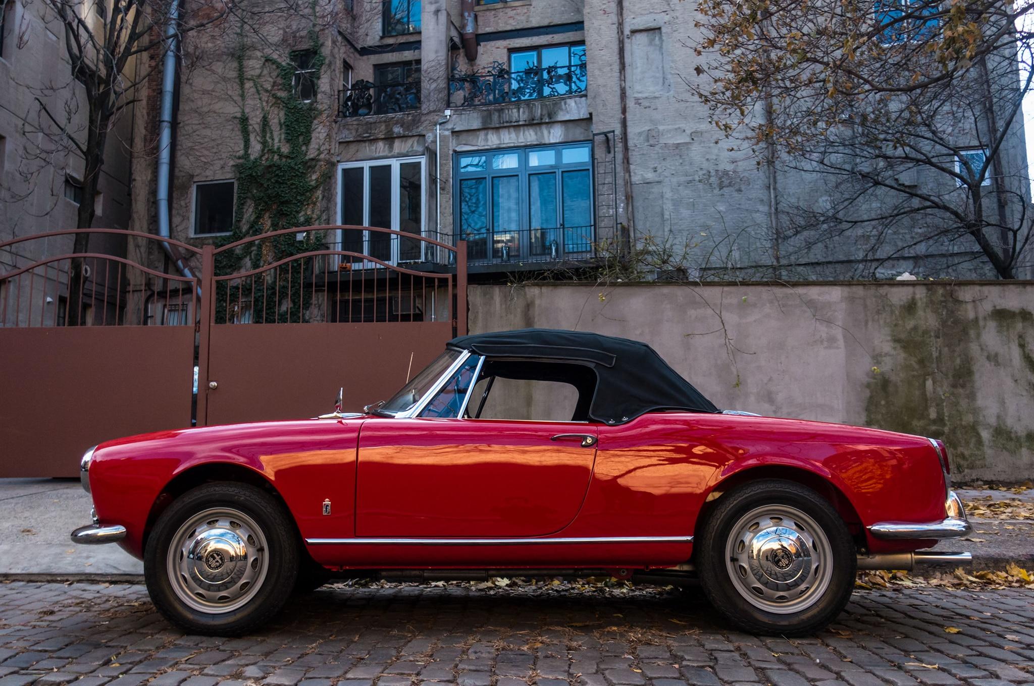 Just Listed 1962 Alfa Romeo Giulietta Spider Veloce Automobile