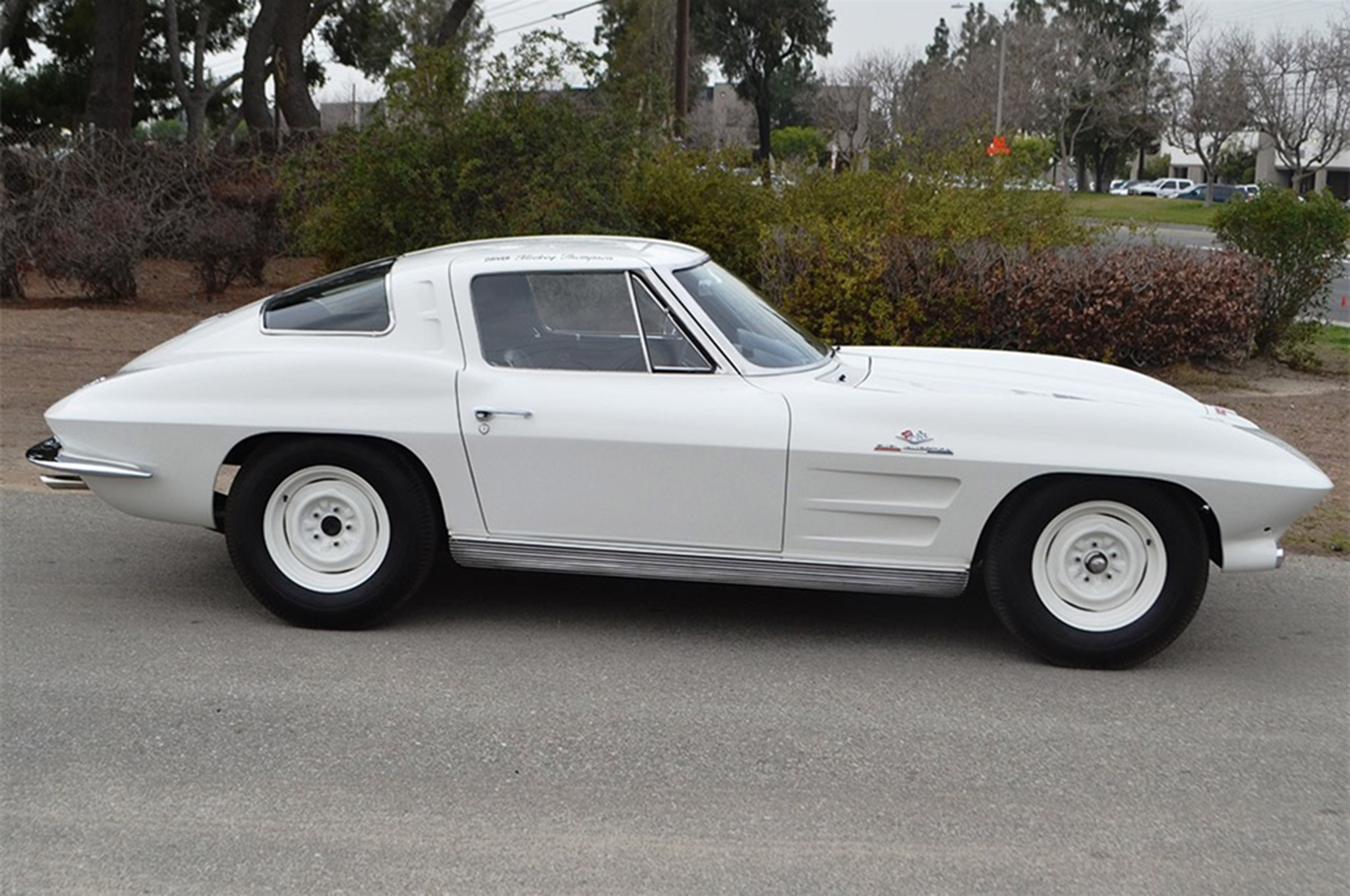 1963 Chevrolet Corvette Z06 Barrett Jackson Side