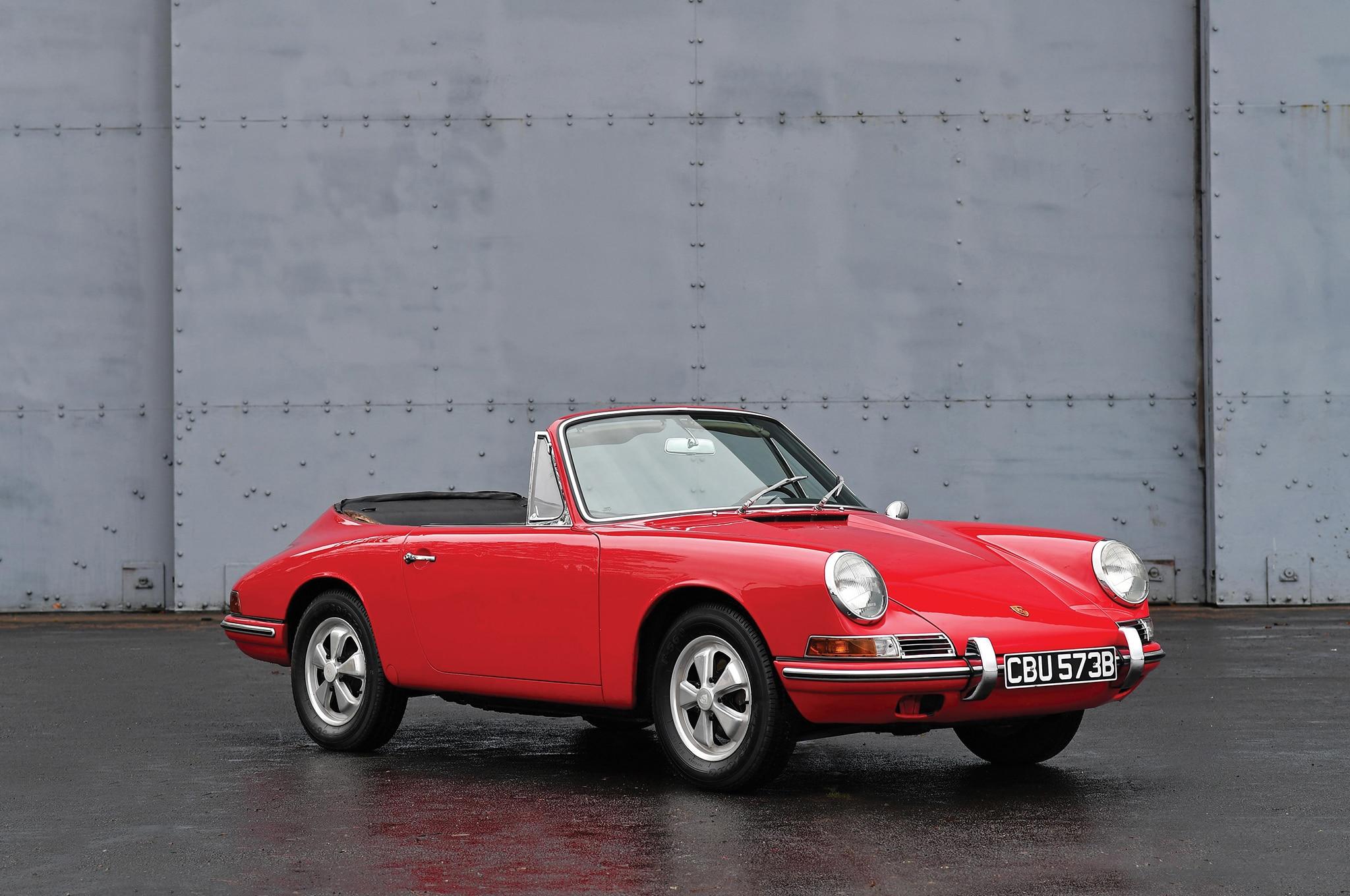 1964 Porsche 901 Cabriolet Prototype RM Sothebys Front Three Quarters