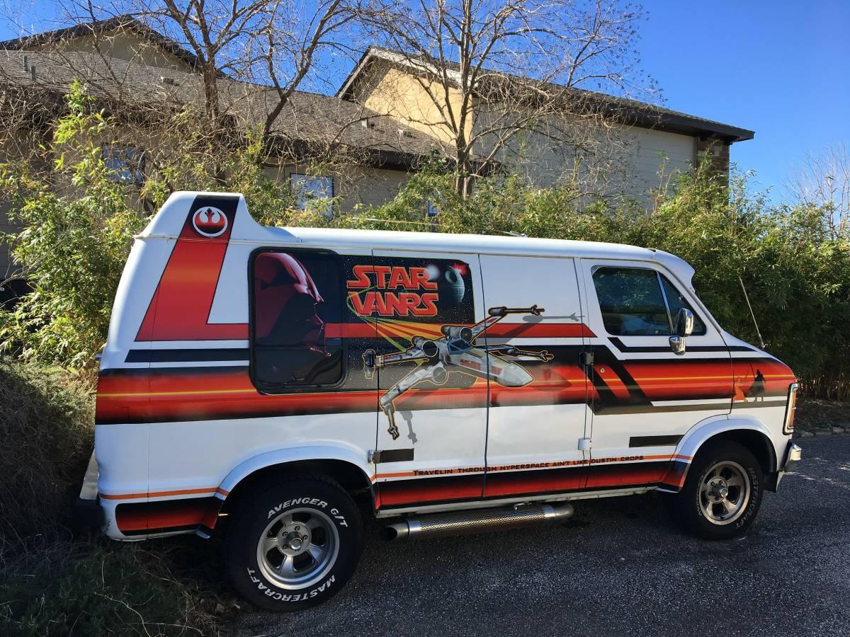 Just Listed: 1979 Dodge Ram Star Wars Tribute Van | Automobile Magazine