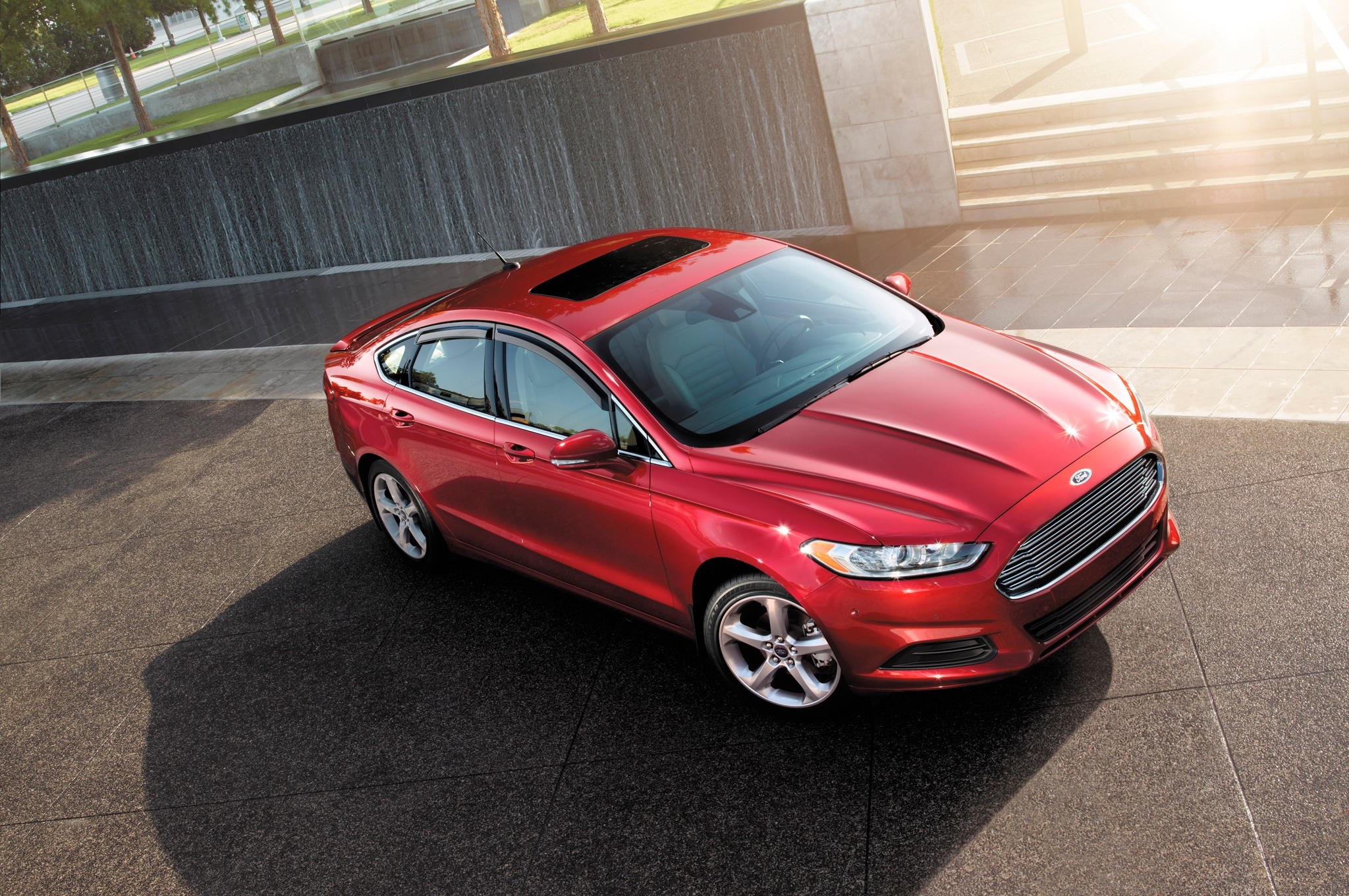 2015-Ford-Fusion-top-view