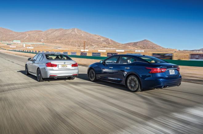 2016 Nissan Maxima SR vs 2016 BMW 340i 02