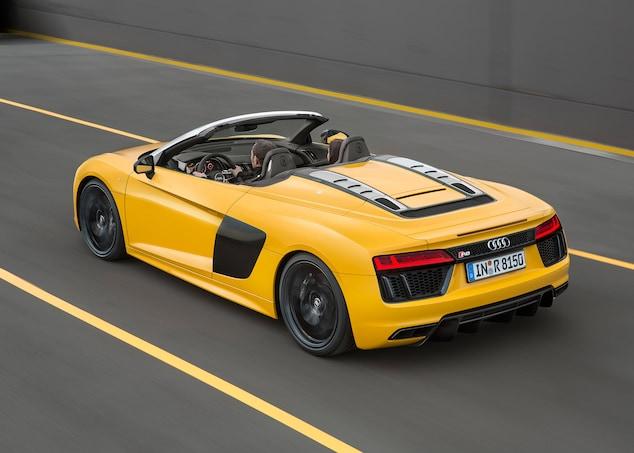 Audi Drops 2017 R8 V10 Spyder Pricing Automobile Magazine