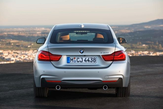 2017 BMW 440i M Sport Gran Coupe rear end