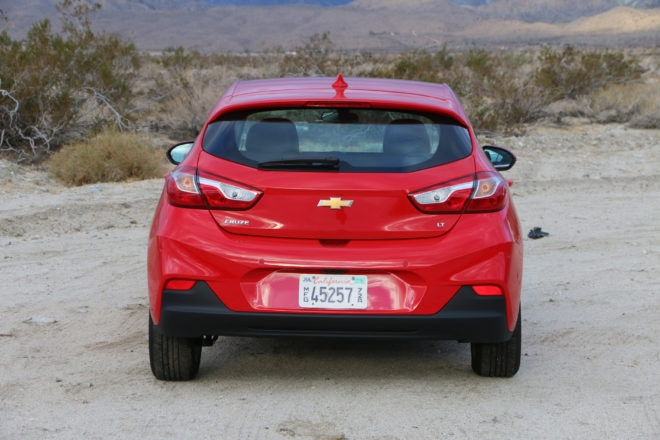 2017 Chevrolet Cruze Hatchback Rear