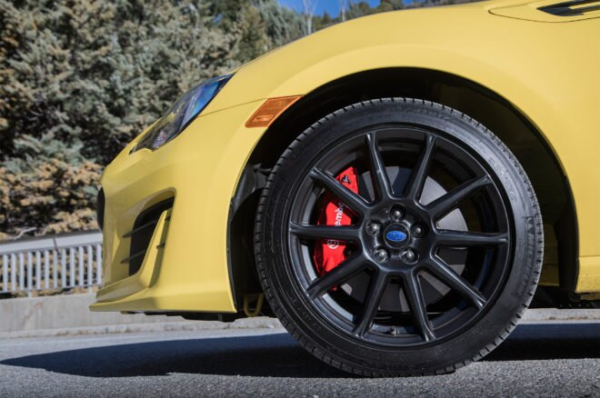 2017 Subaru BRZ Limited Performance Package Series–Yellow wheel