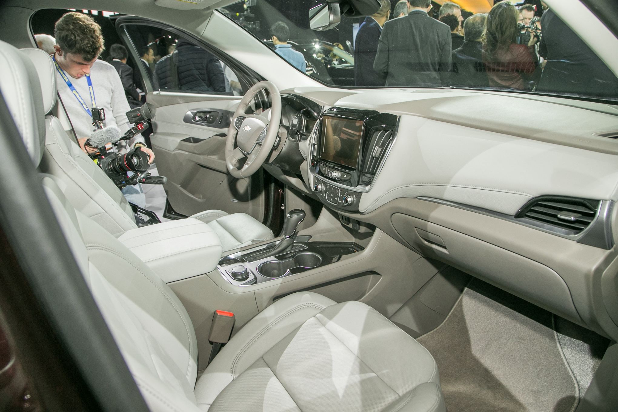 First Look: 2018 Chevrolet Traverse   Automobile Magazine