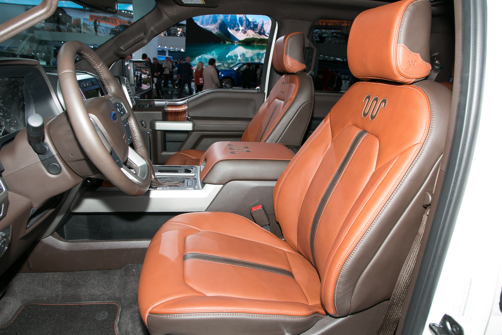 king ranch interior ram goes upscale with new limited tungsten edition 930