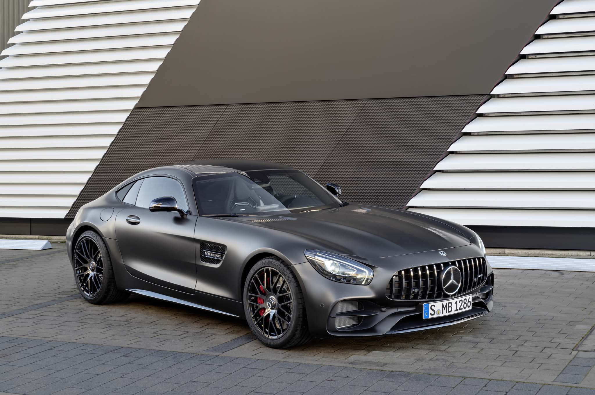 eight key updates for 2018 mercedes amg gt lineup automobile magazine