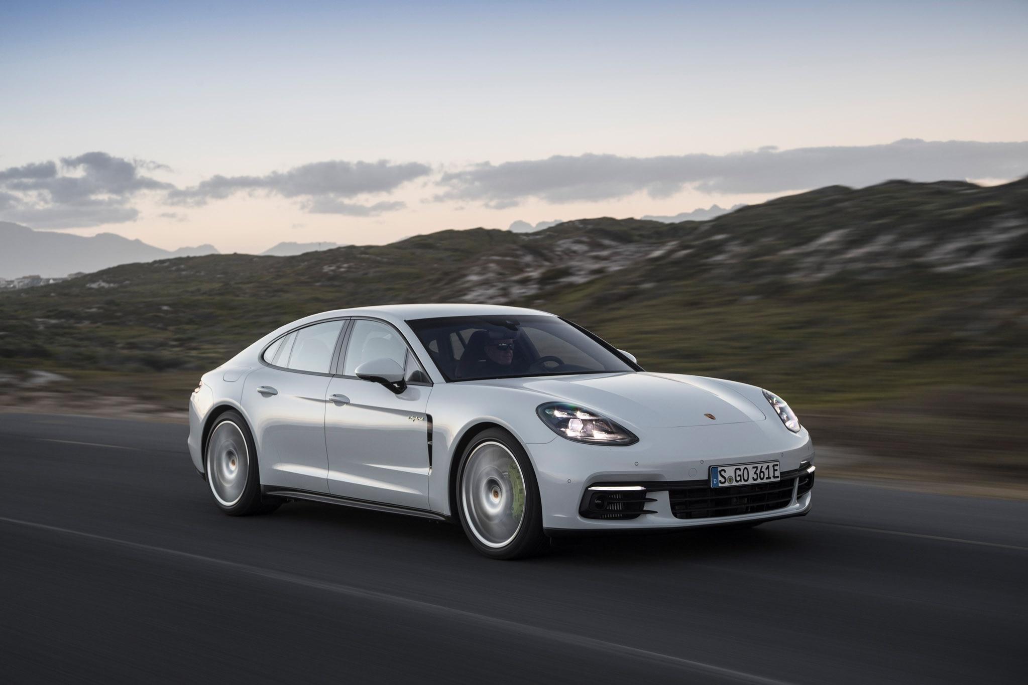 First Drive: 2018 Porsche Panamera 4 E-Hybrid | Automobile ...