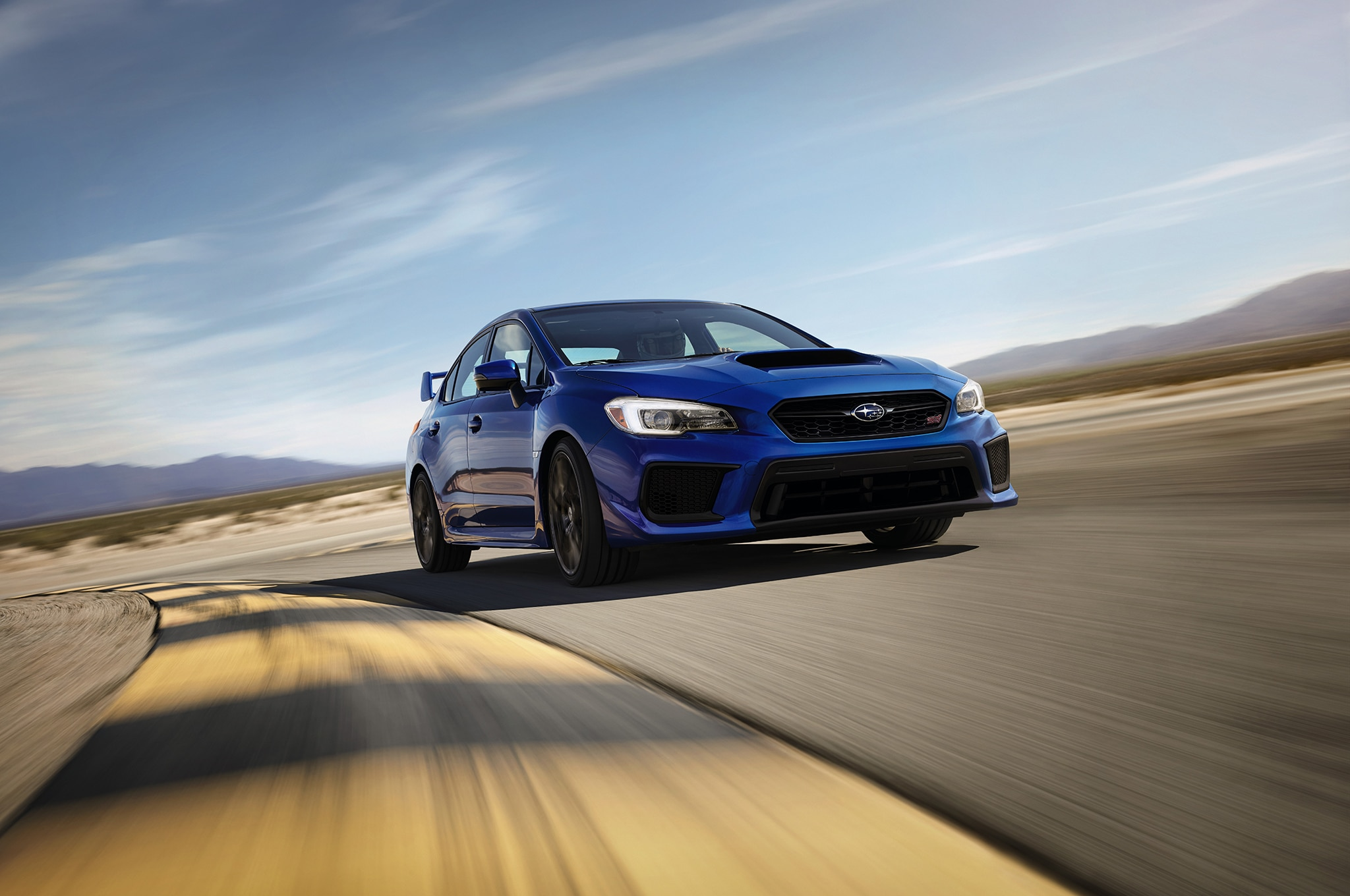 The Sti Receives A Sizable Update