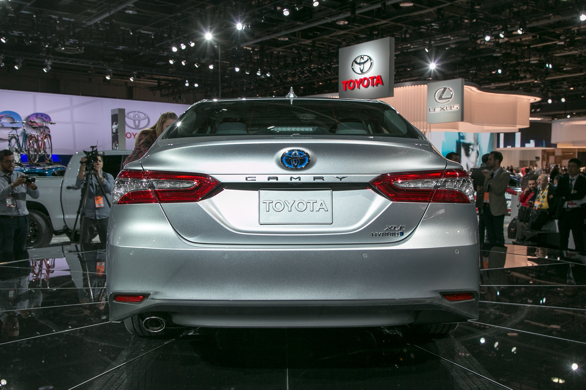 First Look 2018 Toyota Camry Automobile Magazine