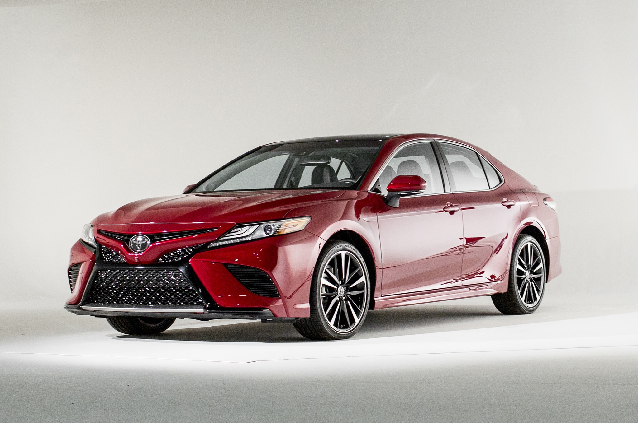 2018 Camry Price >> First Look 2018 Toyota Camry Automobile Magazine