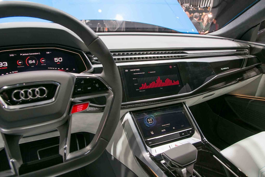Seven Awesome Features of the Audi Q8 Concept | Automobile