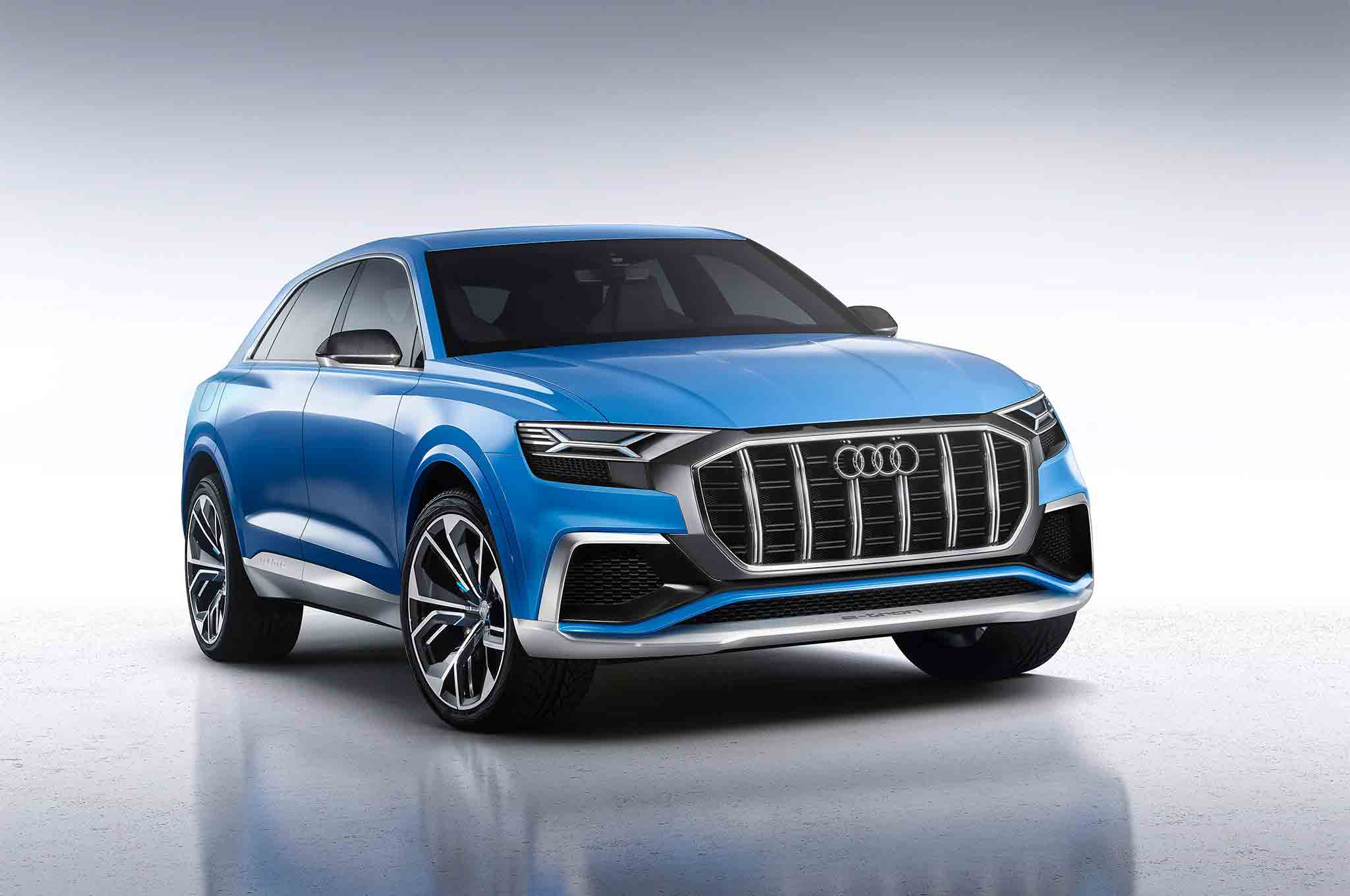 Audi Q8 Concept Front Three Quarter 04 57