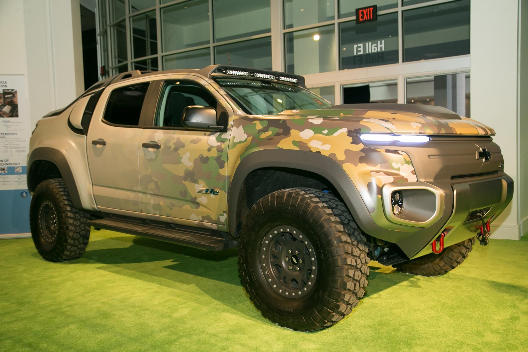 The Chevrolet Colorado ZH2 Fuel Cell Previews the Future ...