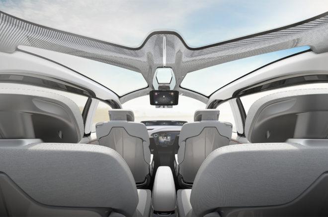 Chrysler Portal concept interior view