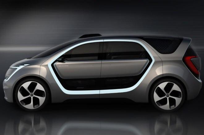 Chrysler Portal concept side profile