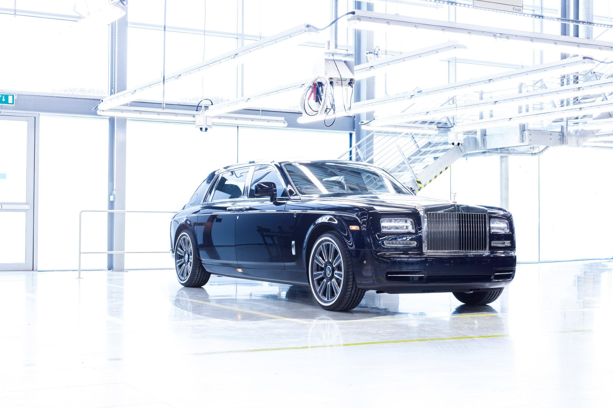 Final Rolls Royce Phantom VII