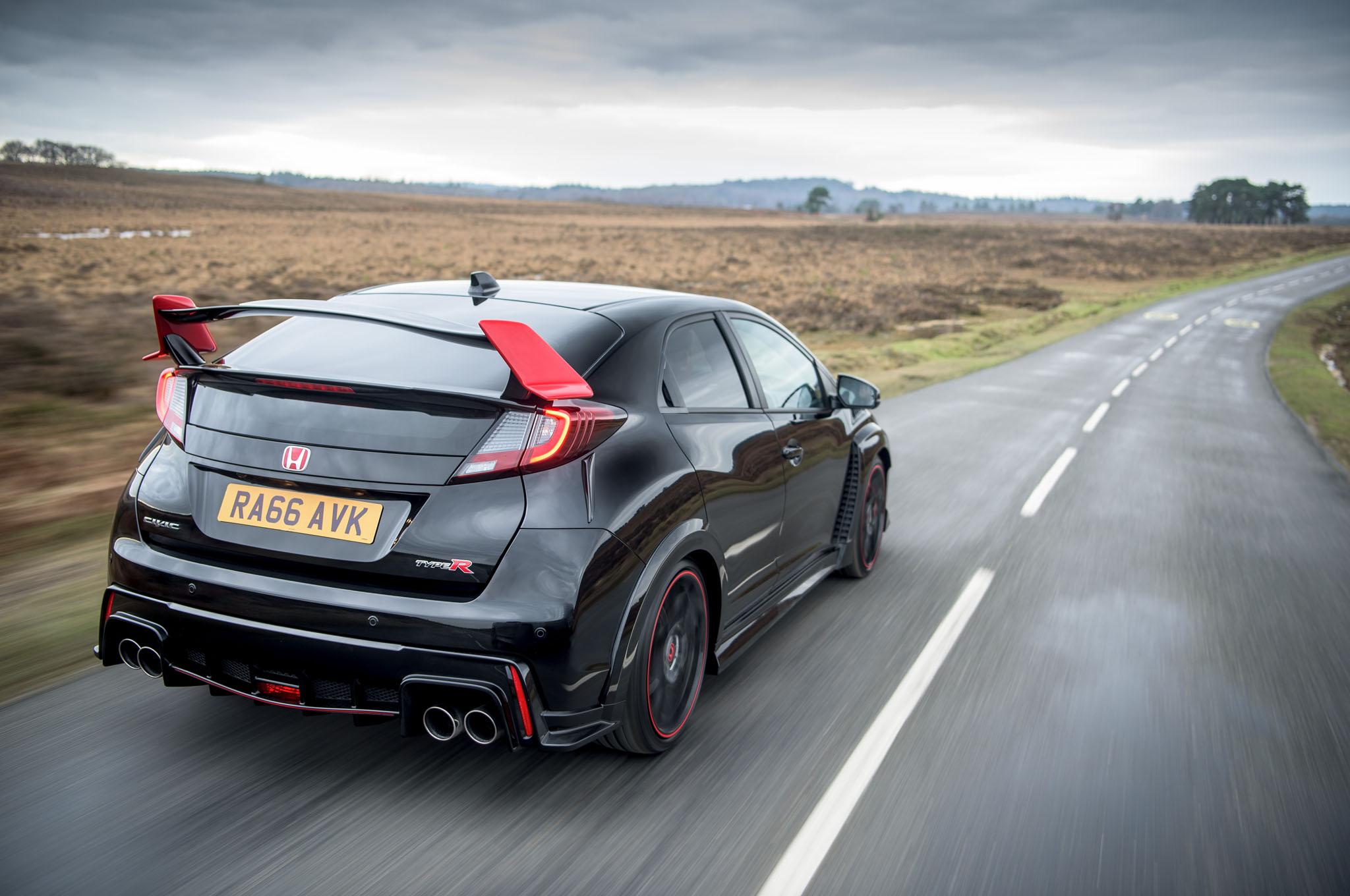 Honda Civic Type R Black Edition Is Special Sendoff