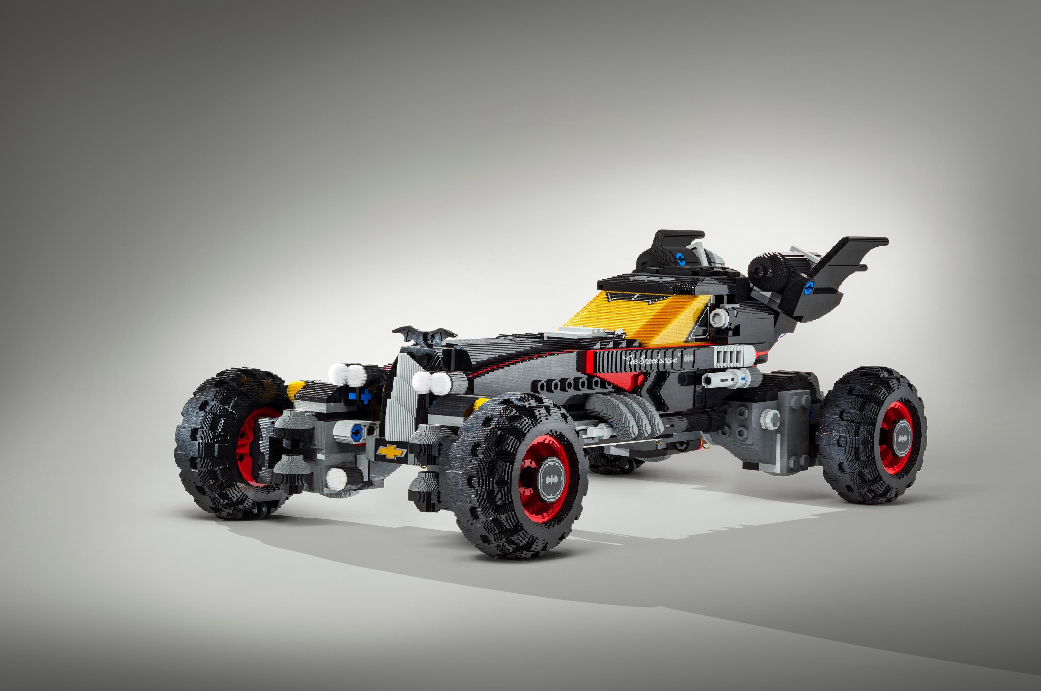 Chevrolet Introduces Life-Sized Lego Batmobile at Detroit Auto Show