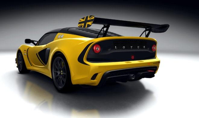 Lotus Exige Race 380 Rear Three Quarter