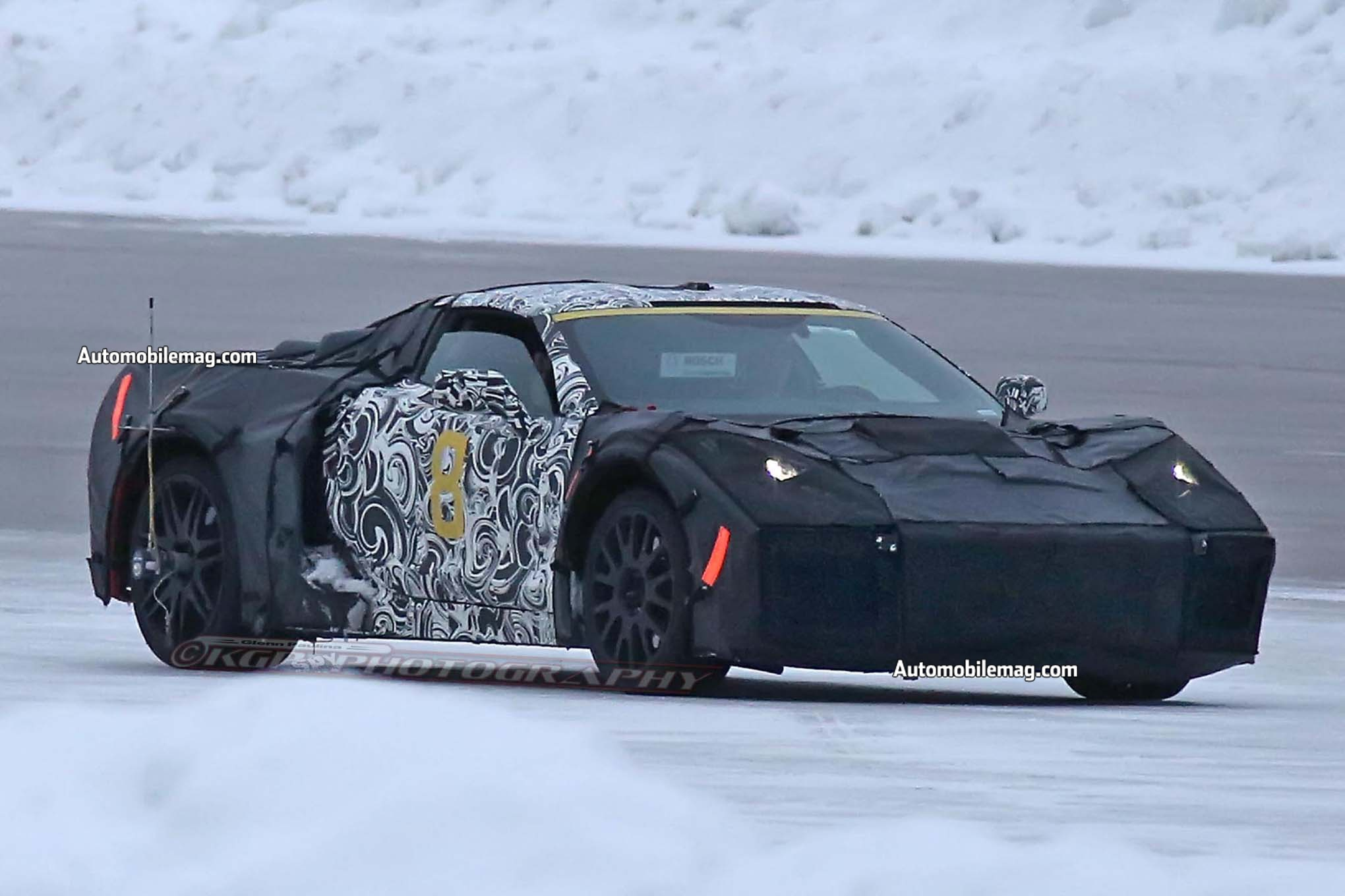 Mid-Engine Corvette Surfaces with ZR1 Prototypes | Automobile Magazine