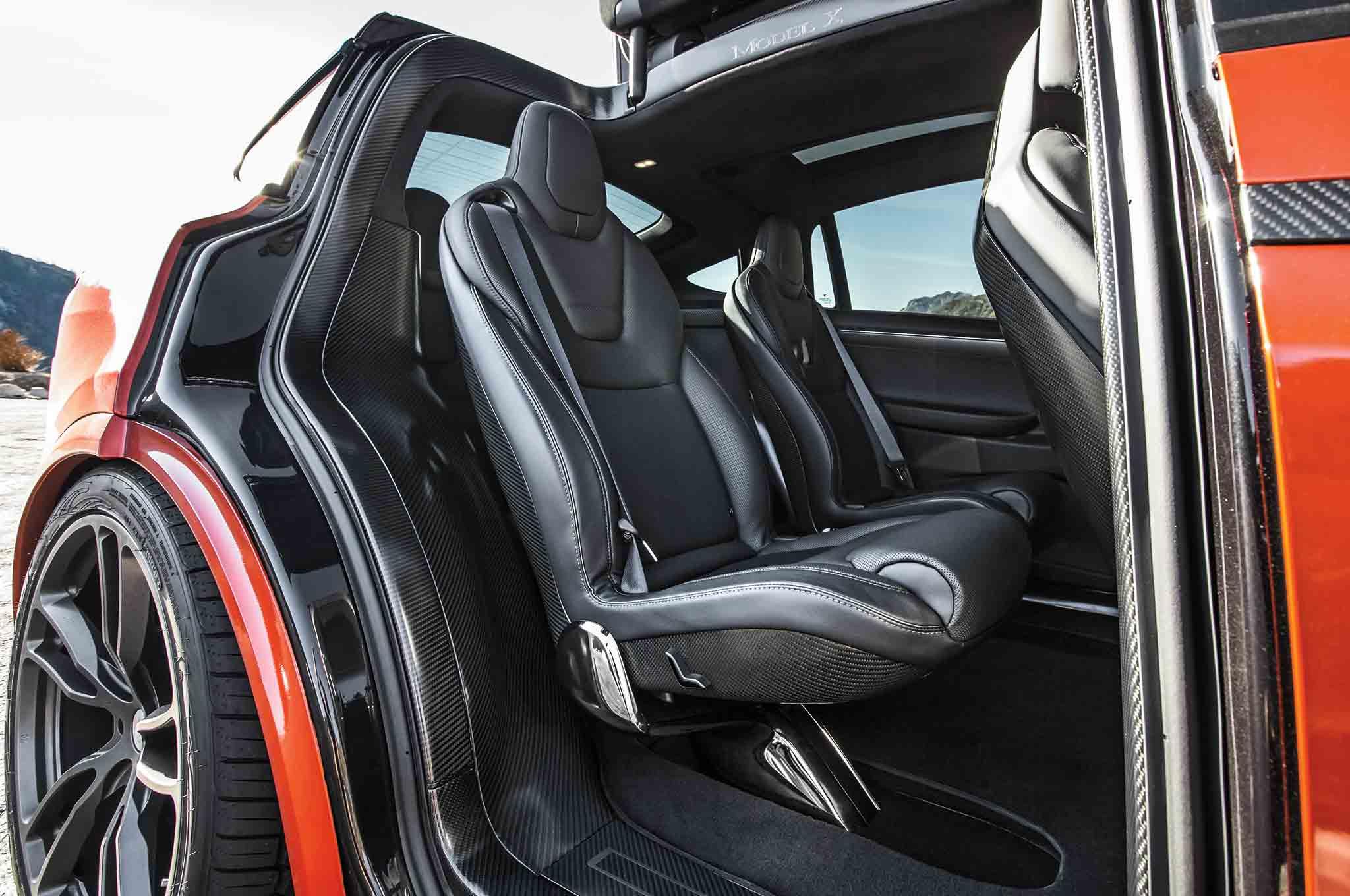 Unplugged Performance Tesla Model X D Rear Seats