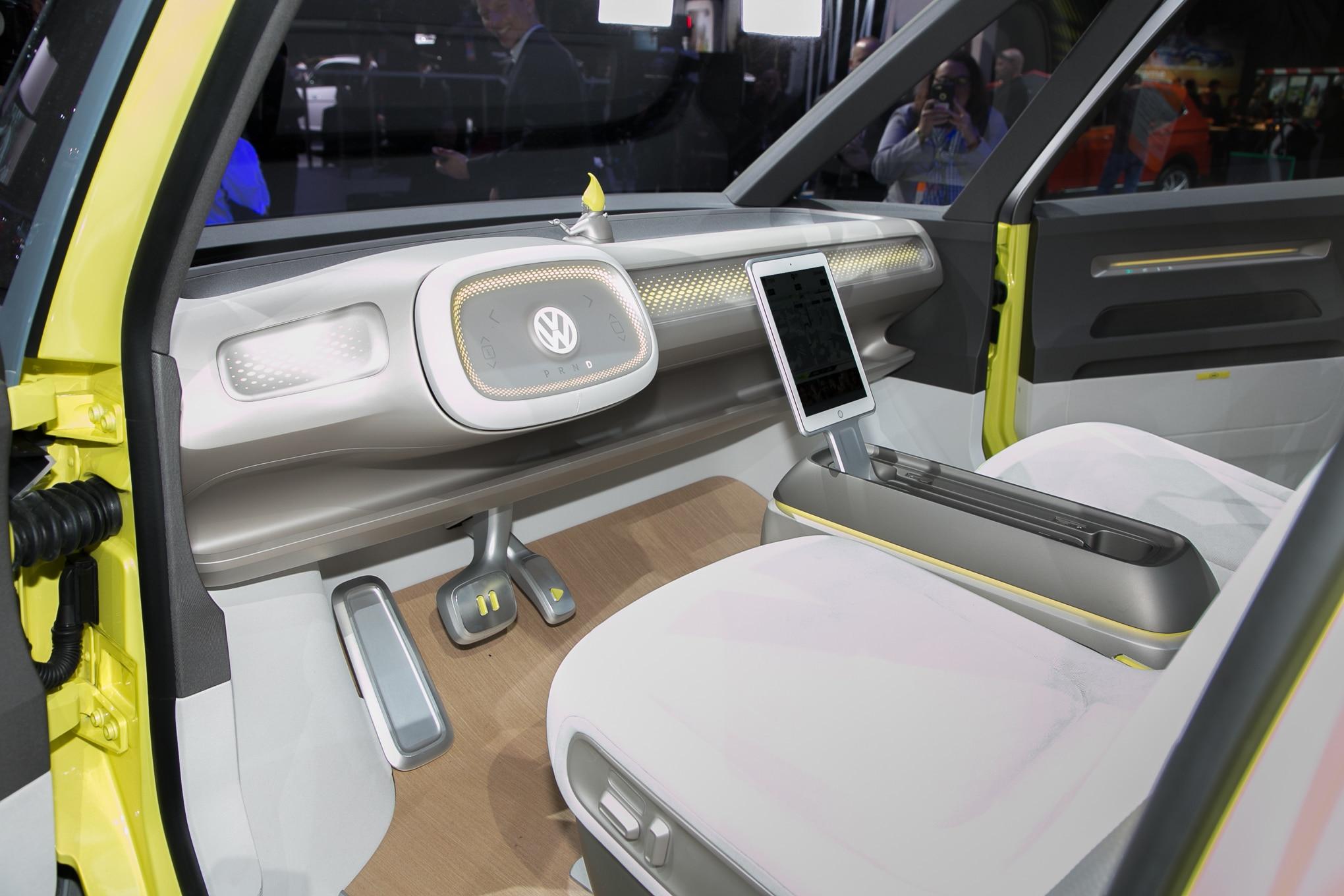 Volkswagen I D Buzz Concept First Look Automobile Magazine