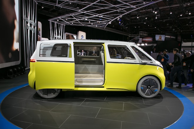 Volkswagen Id Buzz Concept First Look Automobile Magazine