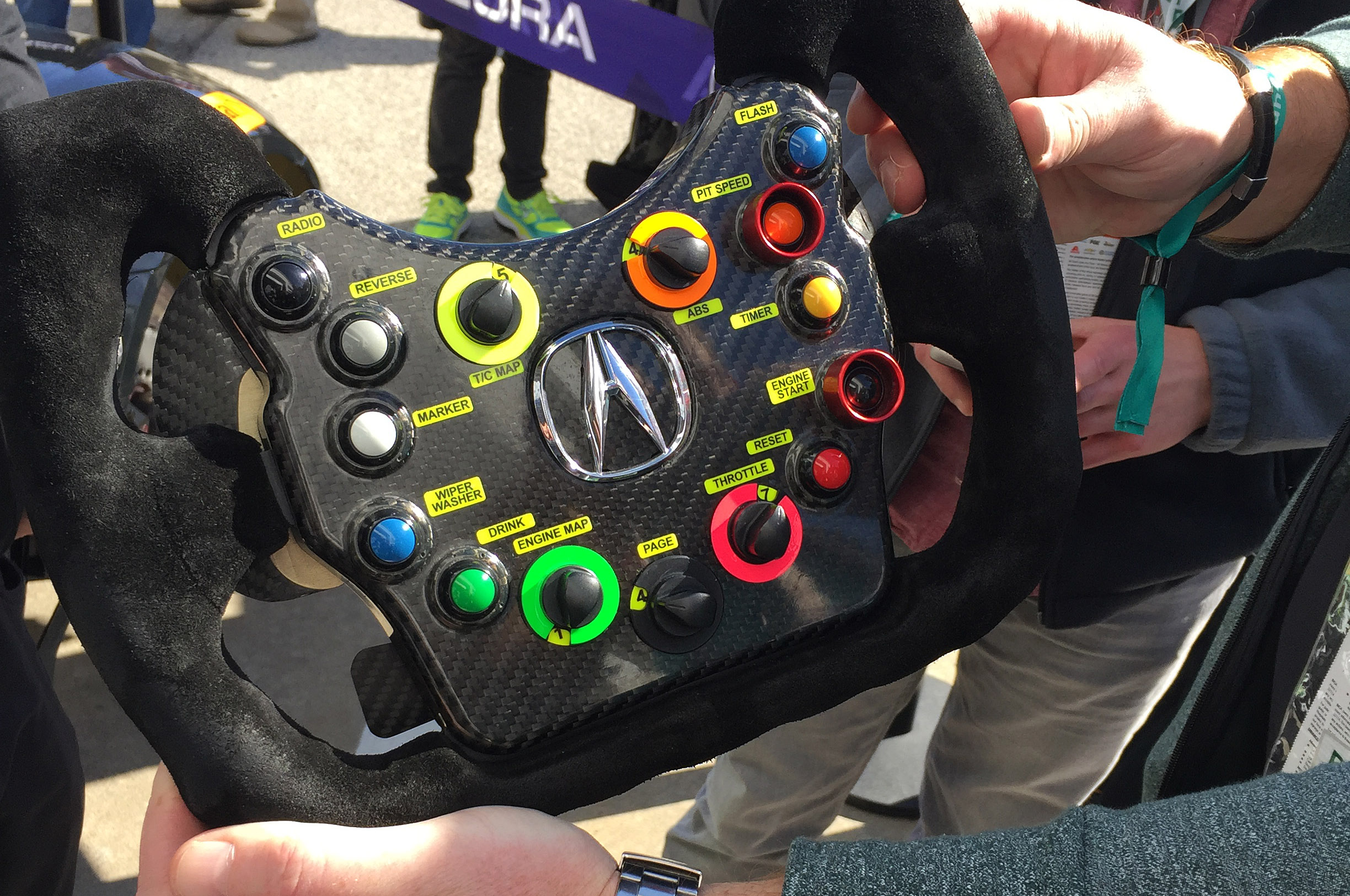 13 things we learned about the acura nsx gt3 race car. Black Bedroom Furniture Sets. Home Design Ideas