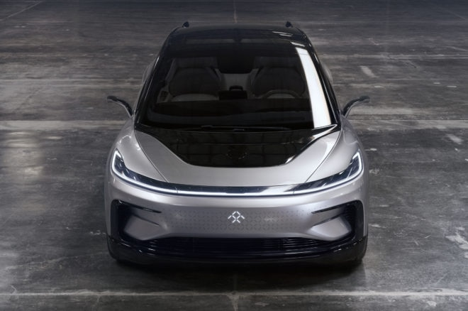 faraday future ff91 front top