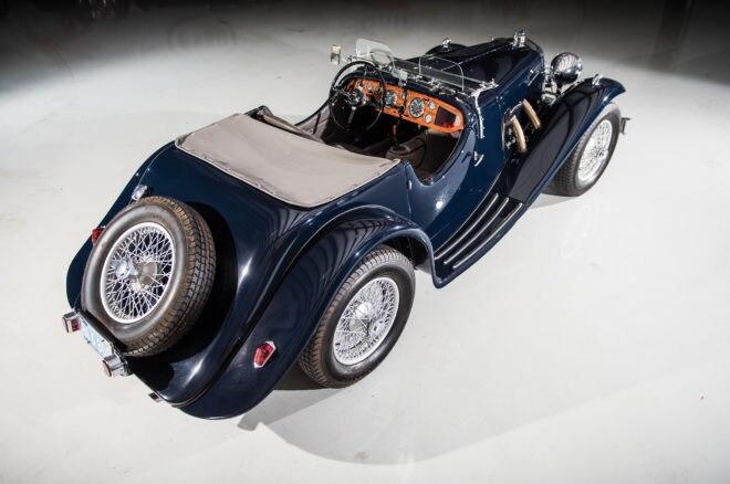 1938 Aston Martin 15 98 RM Sothebys Amelia Island Rear Three Quarters