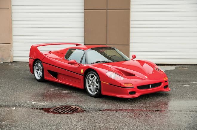 Just Listed Mike Tysons 1995 Ferrari F50 Automobile Magazine