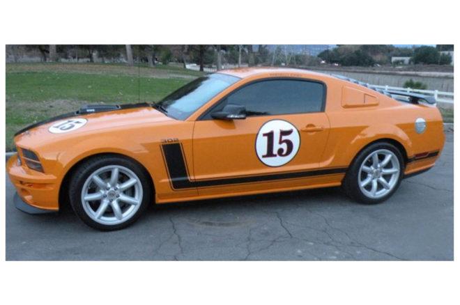 2007 Ford Mustang Saleen Parnelli Jones