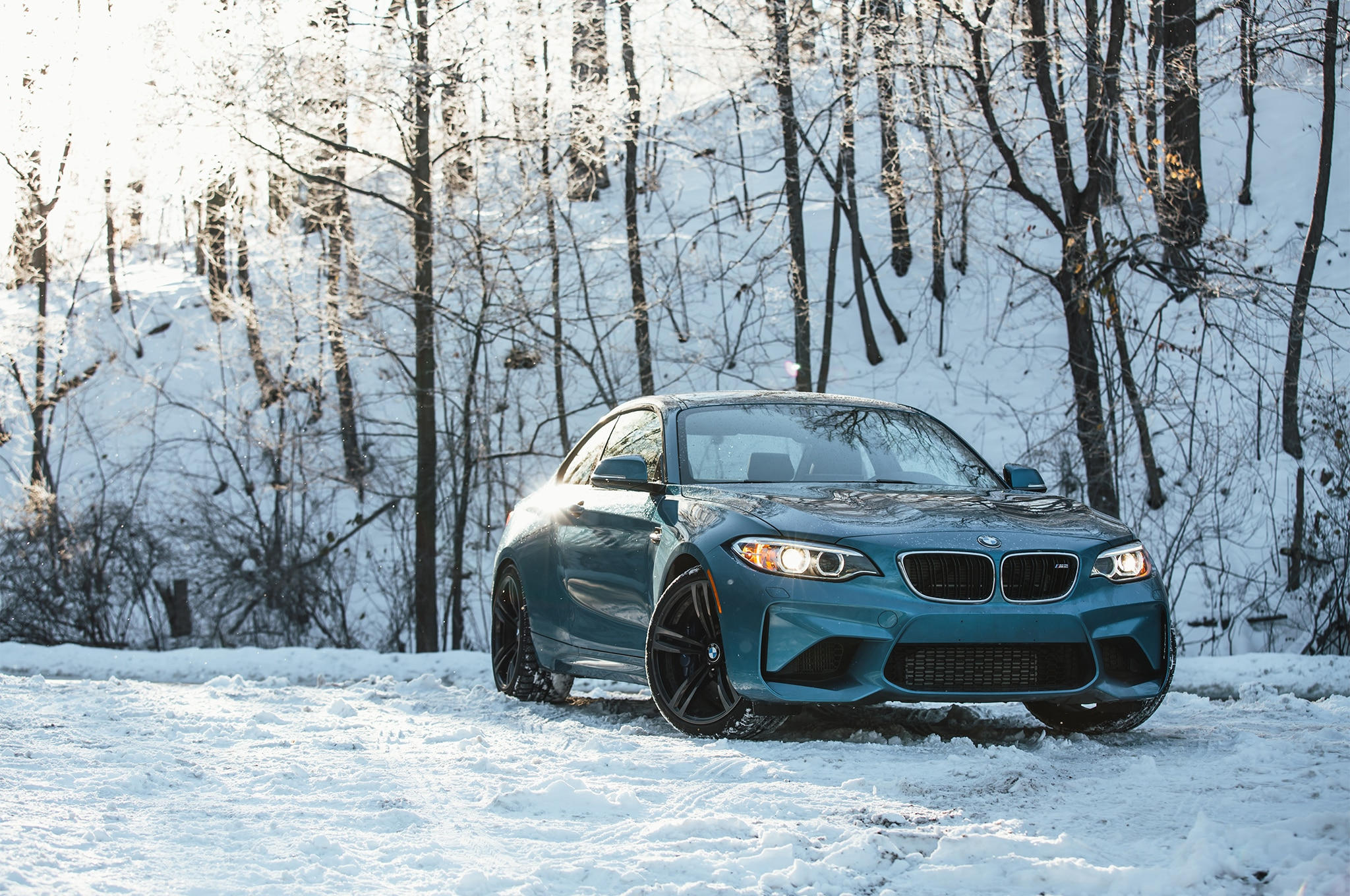 Winter Tires Review 2017 >> A Snowy Start for Our Four Seasons 2017 BMW M2   Automobile Magazine